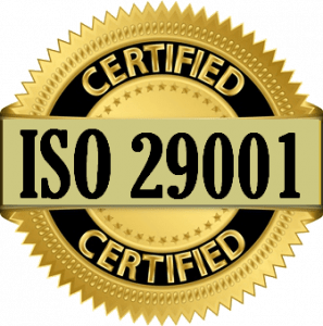 Сертификат ISO 29001