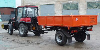 Разрабатываются изменения в перечень тракторов и прицепов для оценки соответствия
